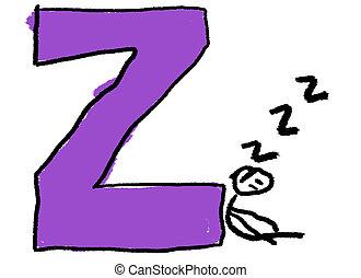 z, lettre