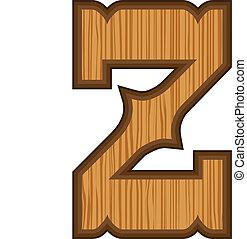 z, occidental, lettre