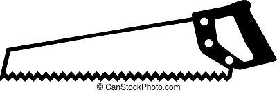 zaag, pictogram