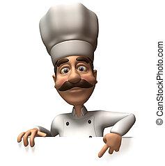 zabawa, mistrz kucharski