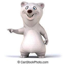 zabawa, niedźwiedź