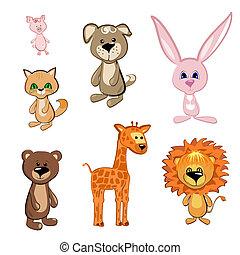 zabawkarskie zwierzęta