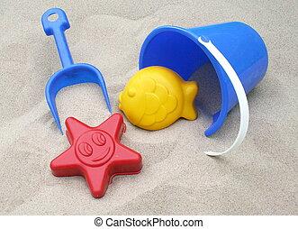 zabawki piasku