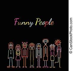 zabawne ludzie