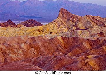 Zabriskie Point Death Valley
