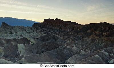 Zabriskie Point, Death Valley - time-lapse