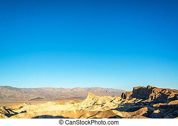 Zabriskie Point Wide Angle View