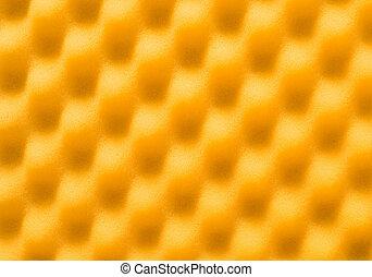 zacht, gele achtergrond