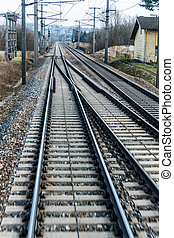 zacht, rails