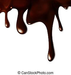 zachwycający, czekolada