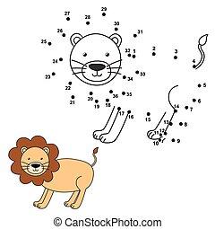 zaciągnąć, przedimek określony przed rzeczownikami, sprytny, lew, gra
