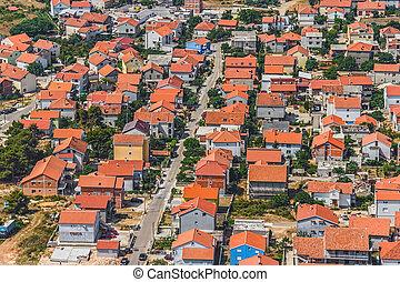 Zadar aerial