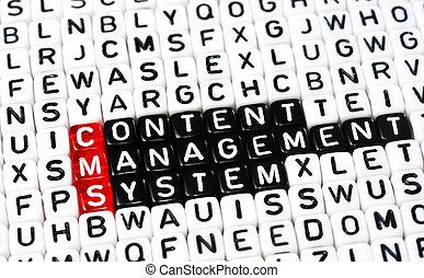 zadowolenie, system, kierownictwo, cms