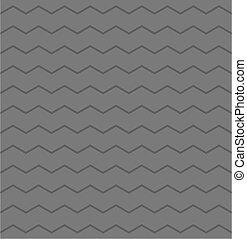 zag, grå, zig, vektor, sparre, mönster, tegelpanna