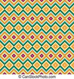 zag, tribal, pattern., seamless, rhombe, zig, ethnique
