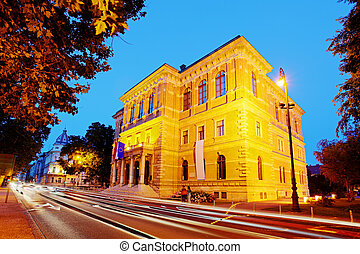 Zagreb building - Croatian Academy of Sciences and Arts