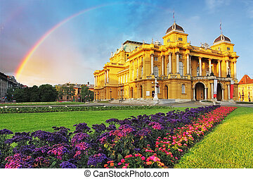 Zagreb - Croatian National Theate - Croatian National...
