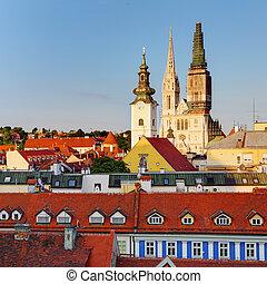 zagreb, kathedrale, kroatien