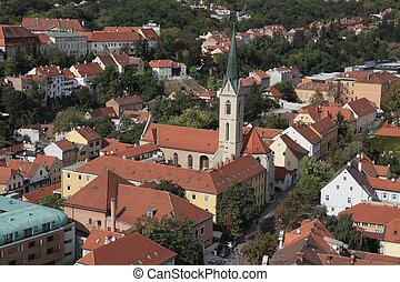 Zagreb-St. Francis of Assisi church