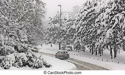 zagreb, tél időmérés