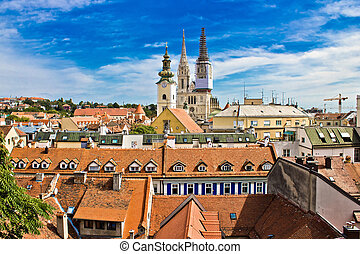 Zagreb - view from upper town