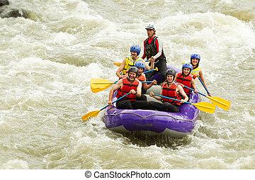 zahlreich,  Whitewater, wildwasserrafting, Reise, familie