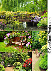 zahrada, vybírání