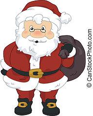 zak, kerstman