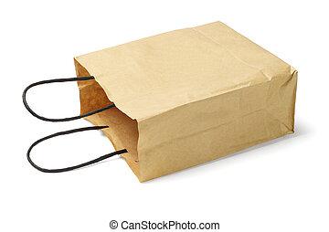 zak, papier, beschikbaar