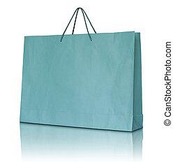 zak, papier, shoppen