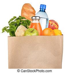 zak van groceries