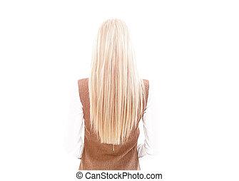 zakelijk, background.rear, aanzicht, van, een, moderne, jonge, zakenmens , .photo, in, volle, groei