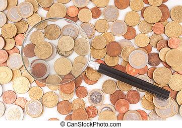zakelijk, geld, concept, idee