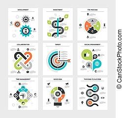 zakelijk, infographics