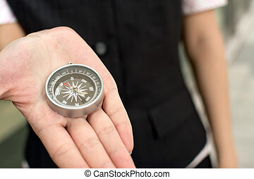 zakelijk, kompas