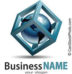 zakelijk, logo