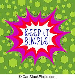 zakelijk, veel, niet, voorwerp, tekst, begrijpen, simple., ...