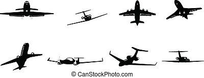 zakelijk, vliegtuig