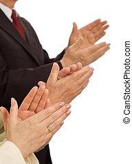 zakelijk, waarden, -, eerbied, en, belonen, opvoering