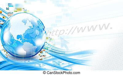 zakelijk, wereld, achtergrond