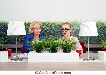 zakenkantoor, vrouwen