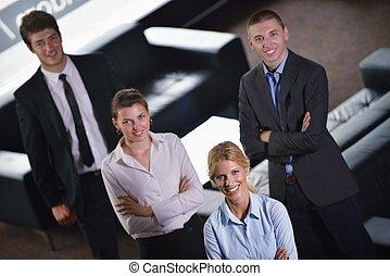 zakenlui, groep