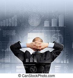 zakenman, achtermening