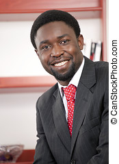 zakenman, afrikaan