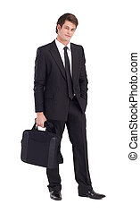 zakenman, aktentas