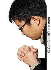 zakenman, biddend