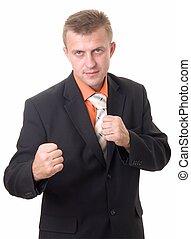 zakenman, boxing