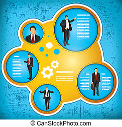 zakenman, concept, workflow