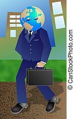 zakenman, globaal