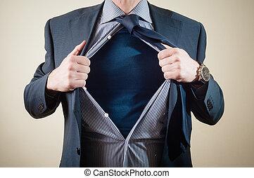 zakenman, superhero